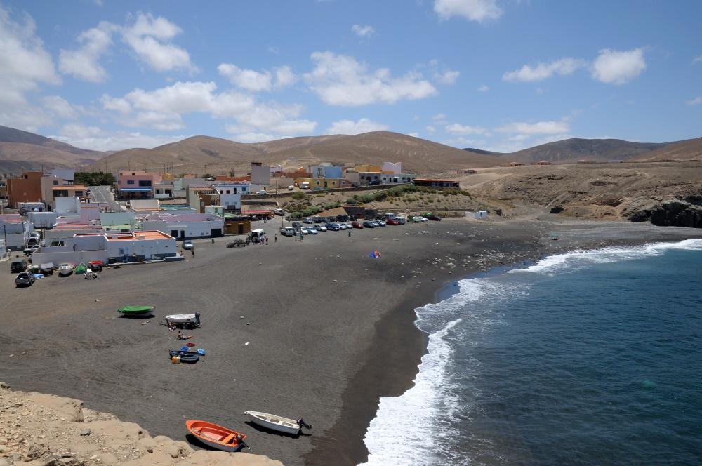 Spanje Fuertaventura visserplaatsje Ajuy