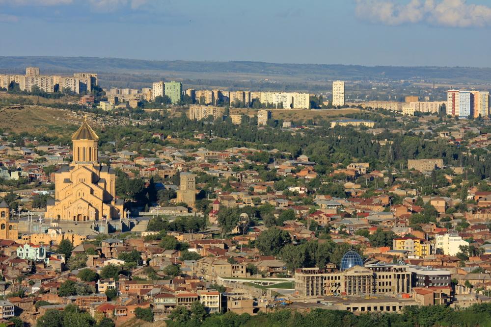 Georgië Tbilisi, hoofdstad