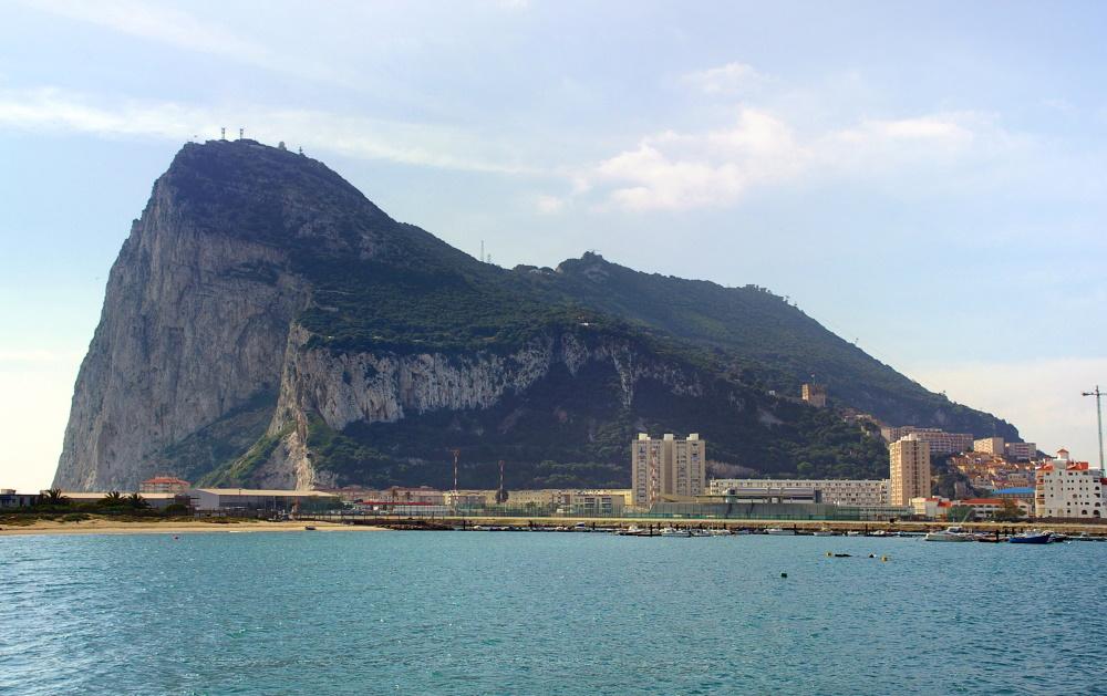 Gibraltar de bekende rots