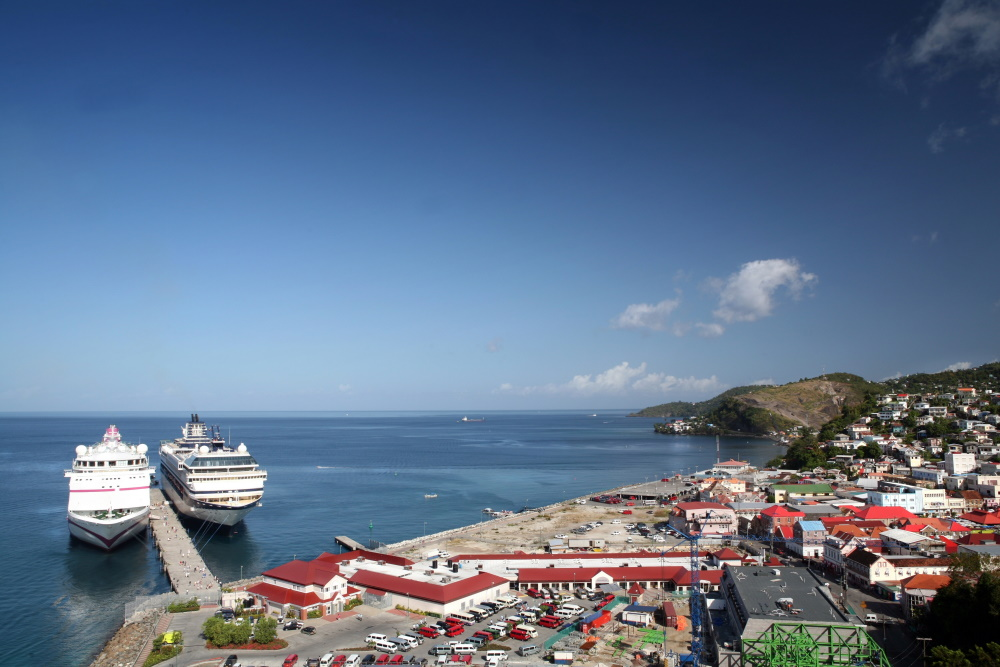 Grenada de haven van St George