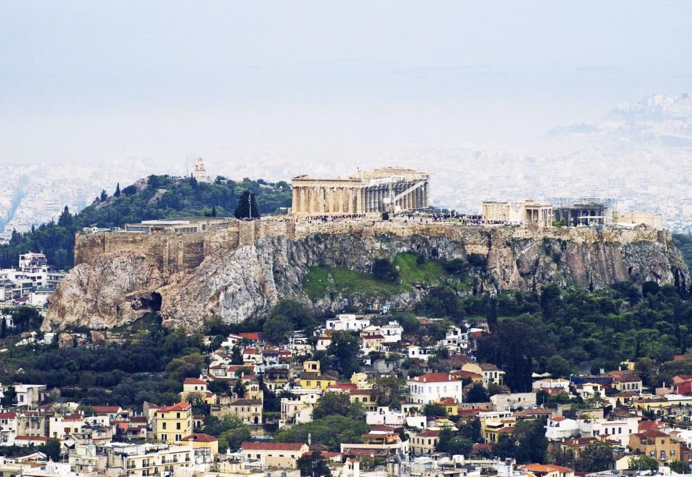 Griekenland het Parthenon