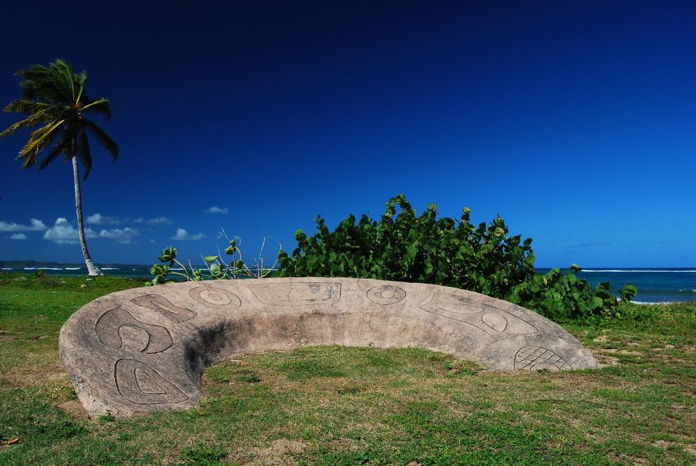Guadeloupe Arawak Petroglief