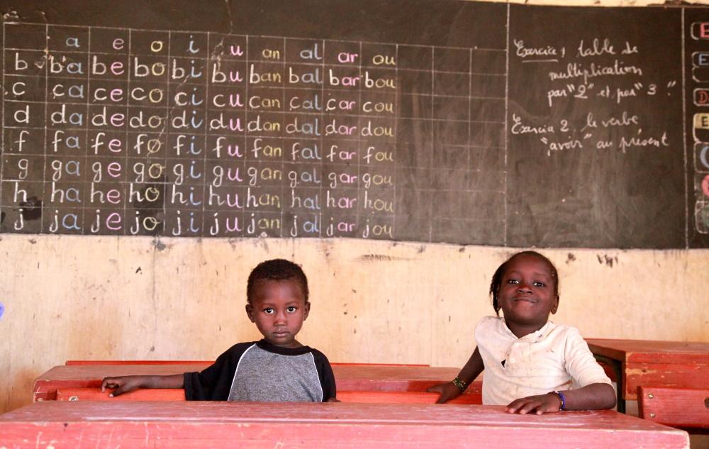 Guinee schoolkinderen