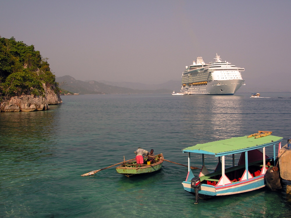 Haiti cruise schip