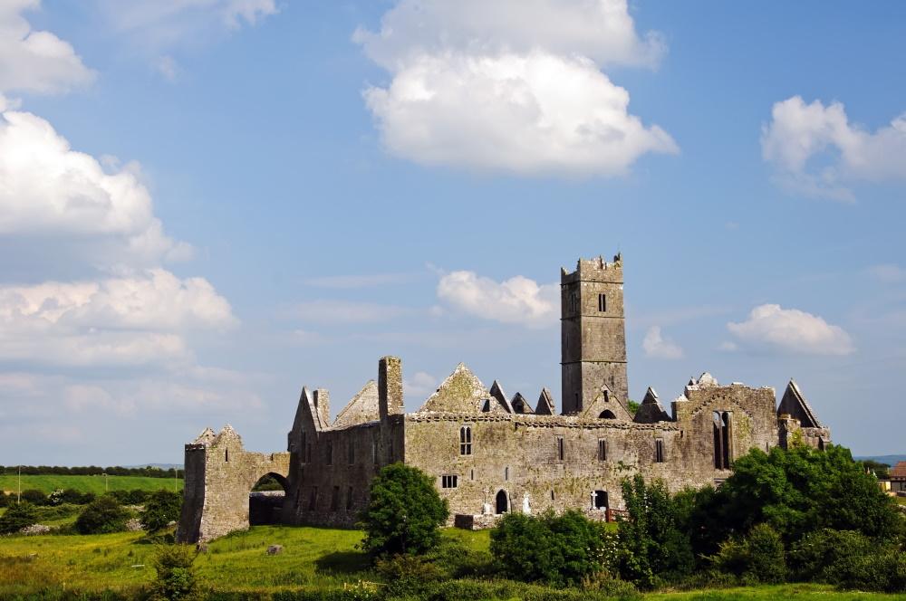 Ierland Quin Abbey kasteel