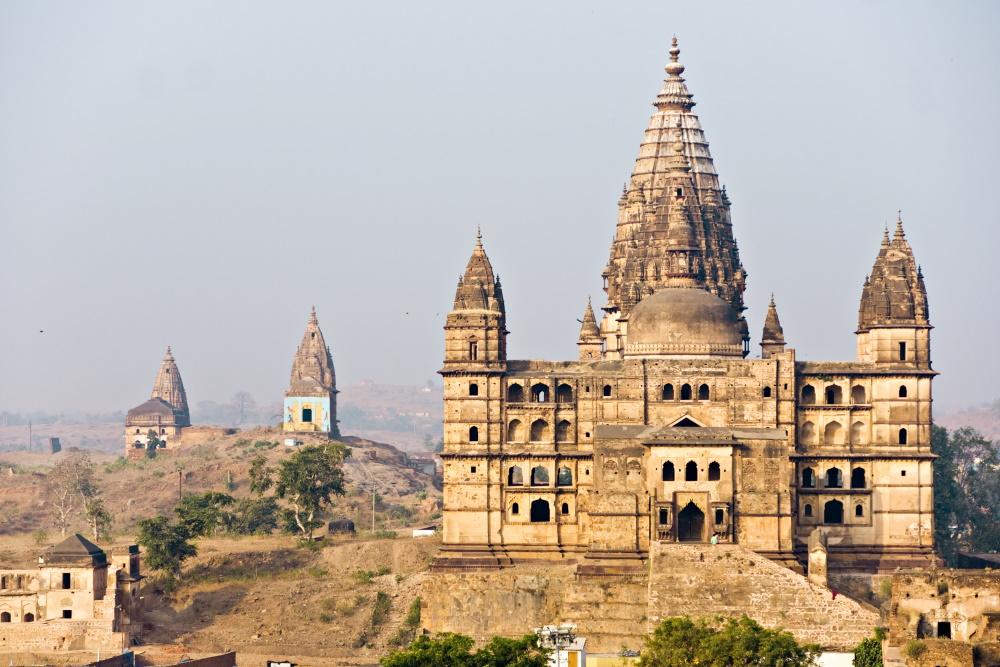 India Paleis in Orcha, Madhya Pradesh