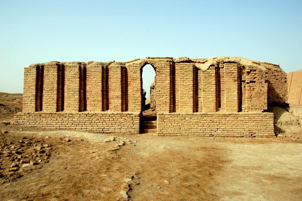 Irak het huis van de profeet Abraham
