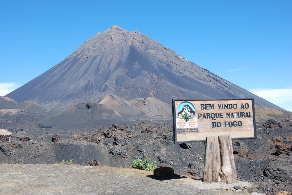 Kaapverdië Fogo eiland de Fogo vulkaan