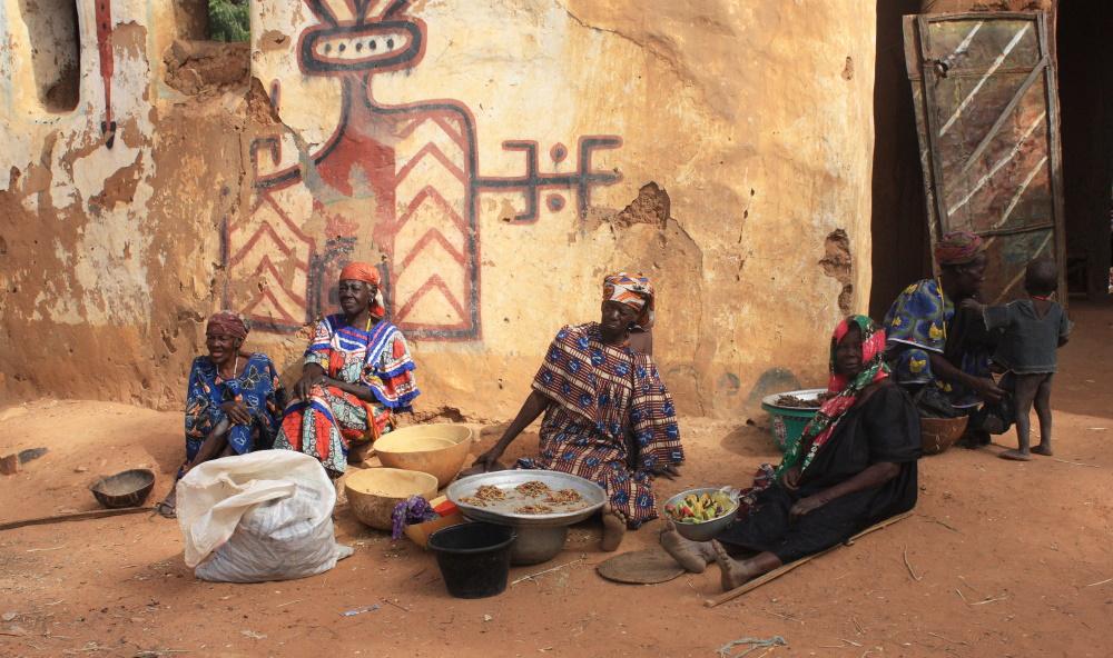 Kameroen leven op straat in Yaoundé