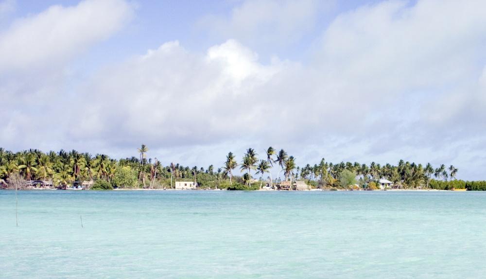 Kiribati Buota lagoon