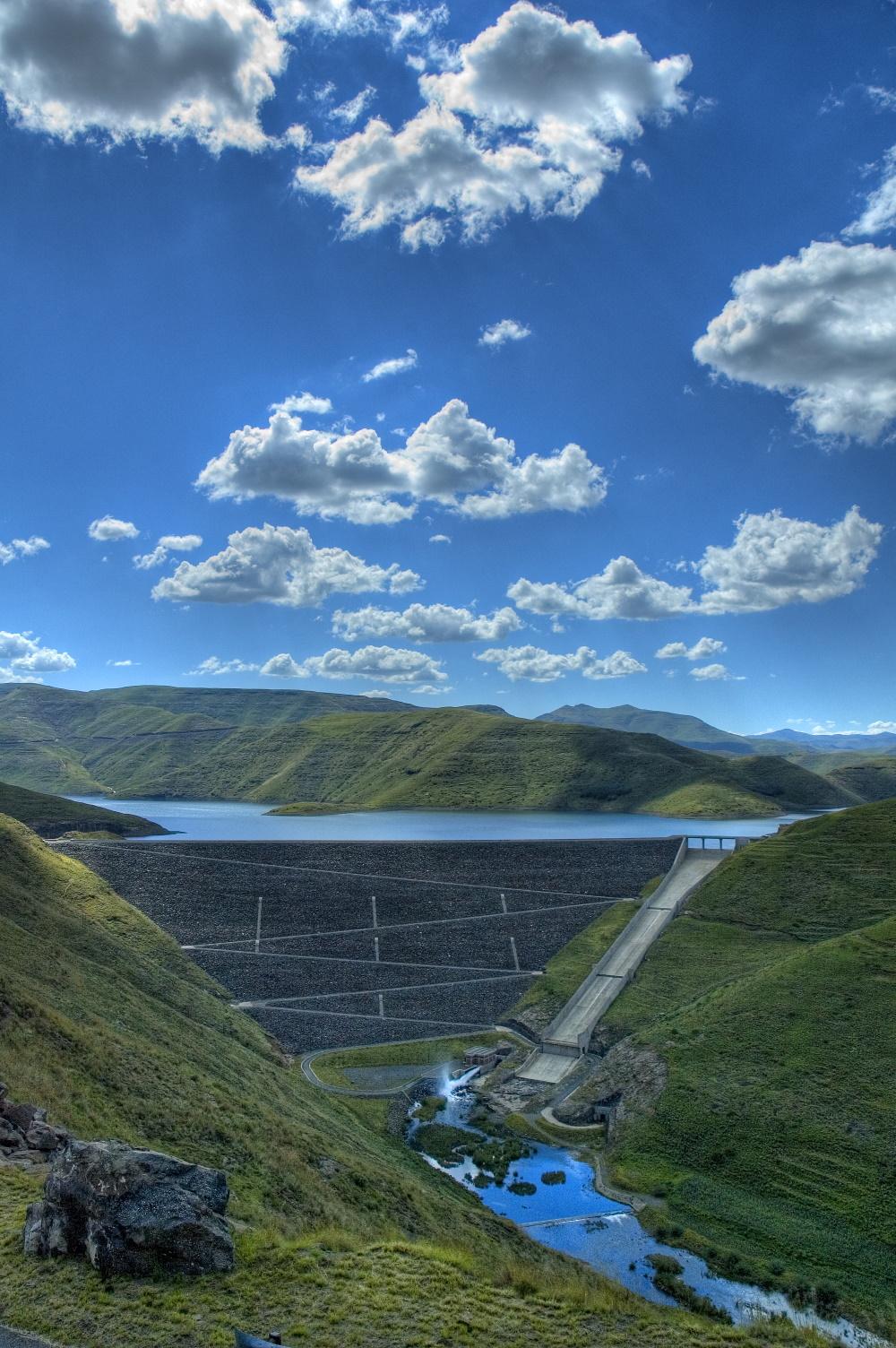 Lesotho Mohale Dam