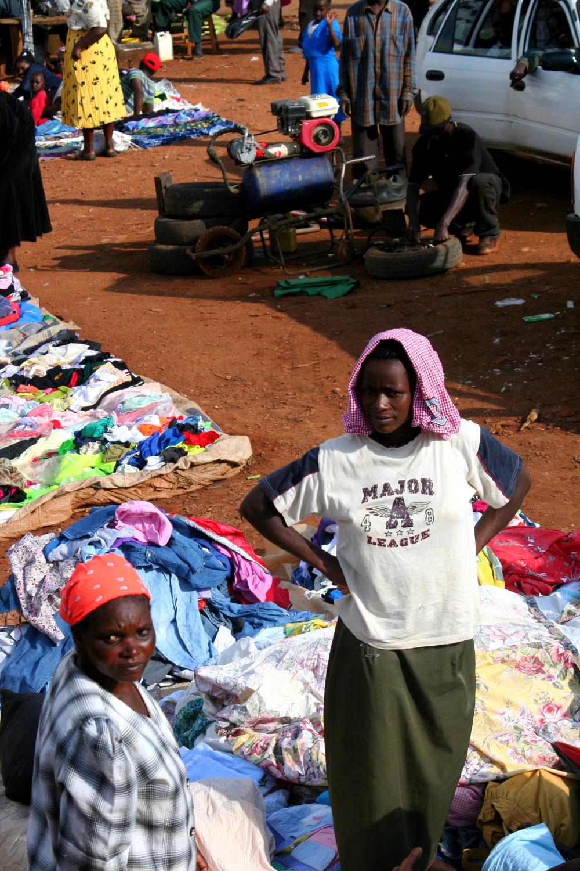 Liberia Afrikaanse markt