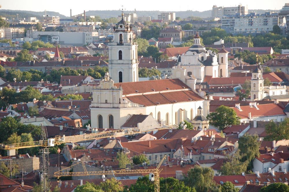 Litouwen Vilnius de oude stad