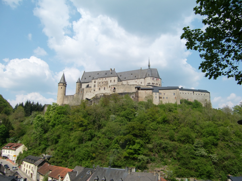 Luxemburg Vianden kasteel
