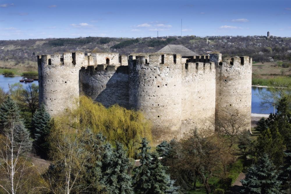 Moldavië fort bij Soroca