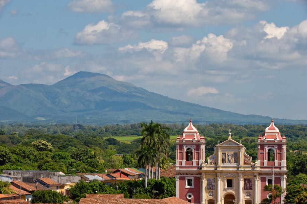 Nicaragua Leon City kathedraal