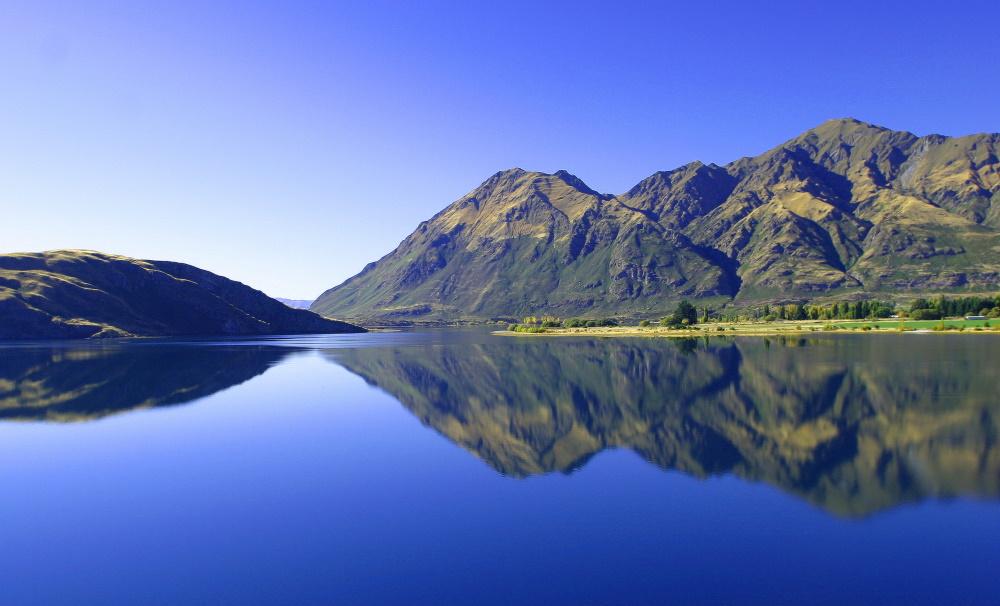 Nieuw Zeeland lake wanaka
