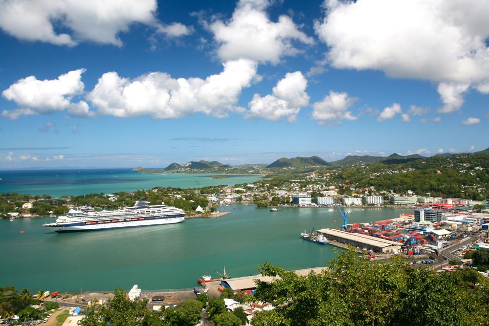 Saint Lucia haven Castries
