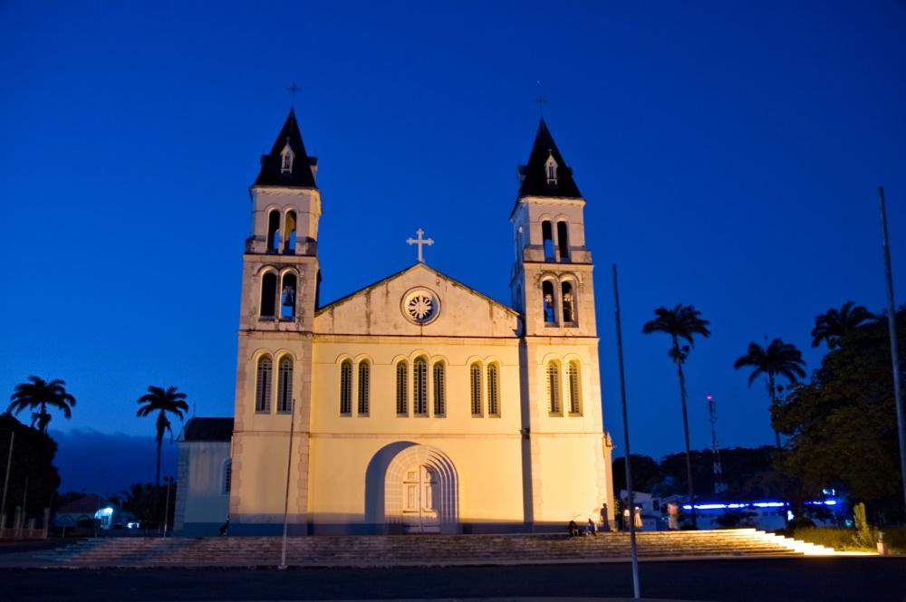 Sao Tome en Principe belangrijkste kathedraal portugese koloniale periode