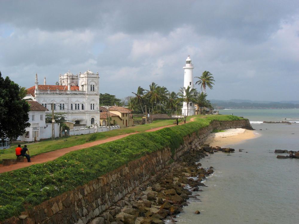 Sri Lanka Galle fort 1663 door Nederlanders gebouwd