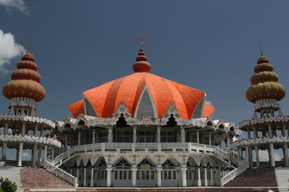 Suriname Hindu tempel in Paramaribo, (2)