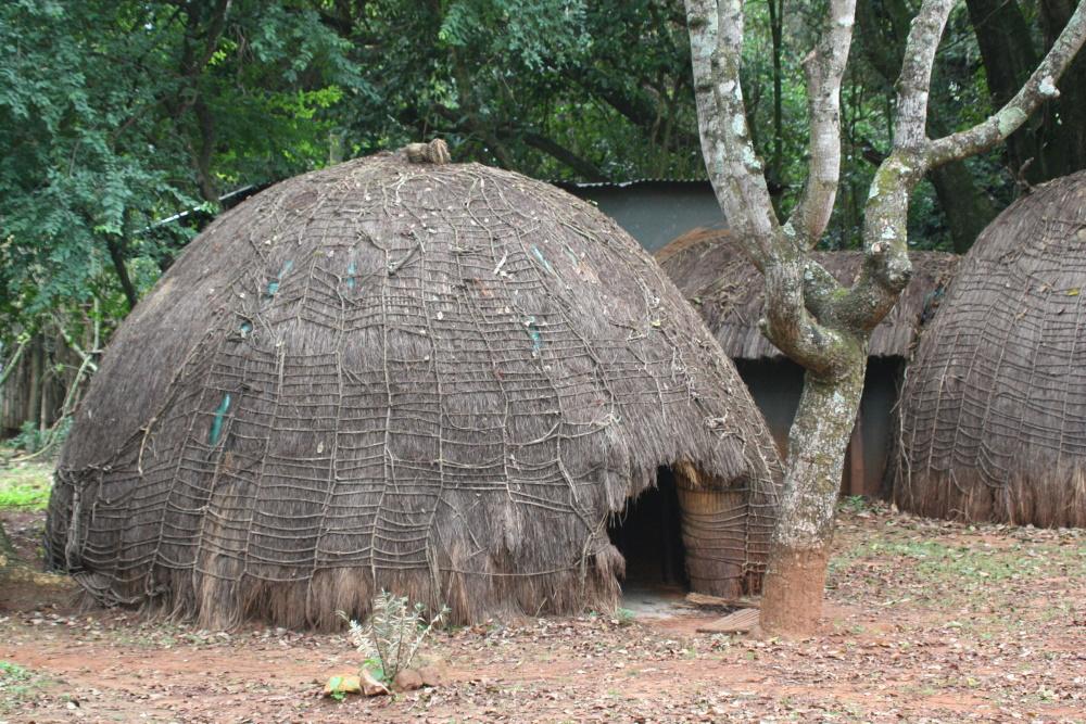 Swaziland traditionele hut