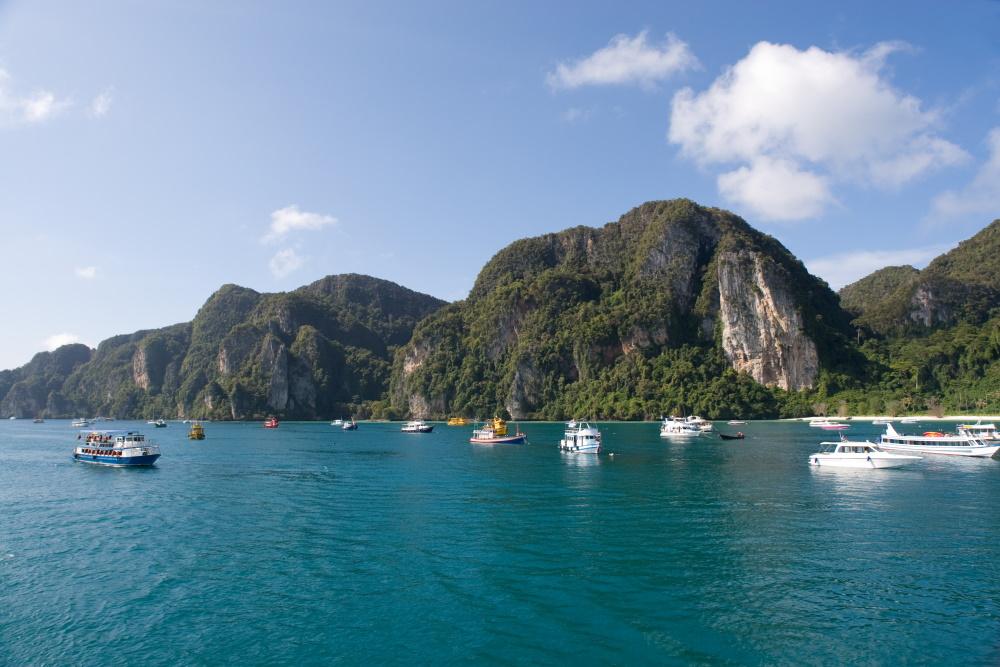 Thailand Phi Phi eiland in de Adam zee