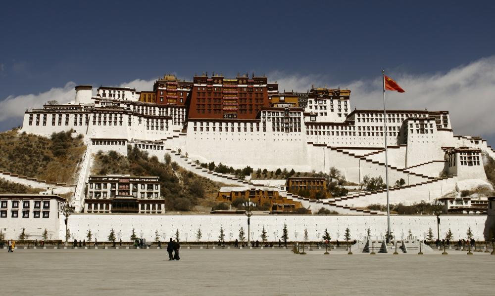 Tibet Potala Palace in Lhasa