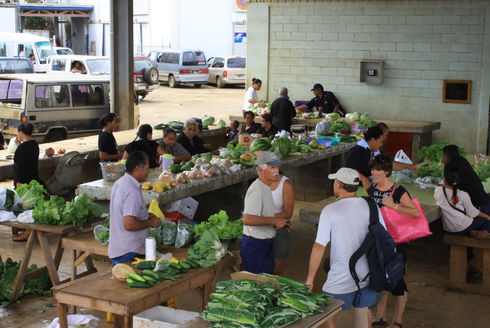 Tonga markt in Vava'u
