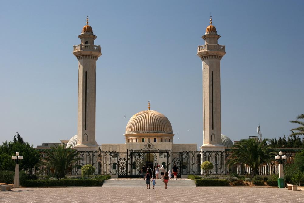 Tunesië Masoleum van Habib Bourgiba in Monastir