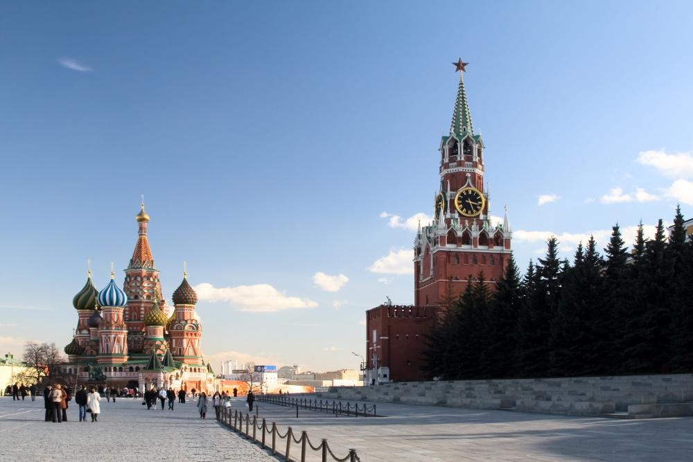 Rusland Moskow rode plein