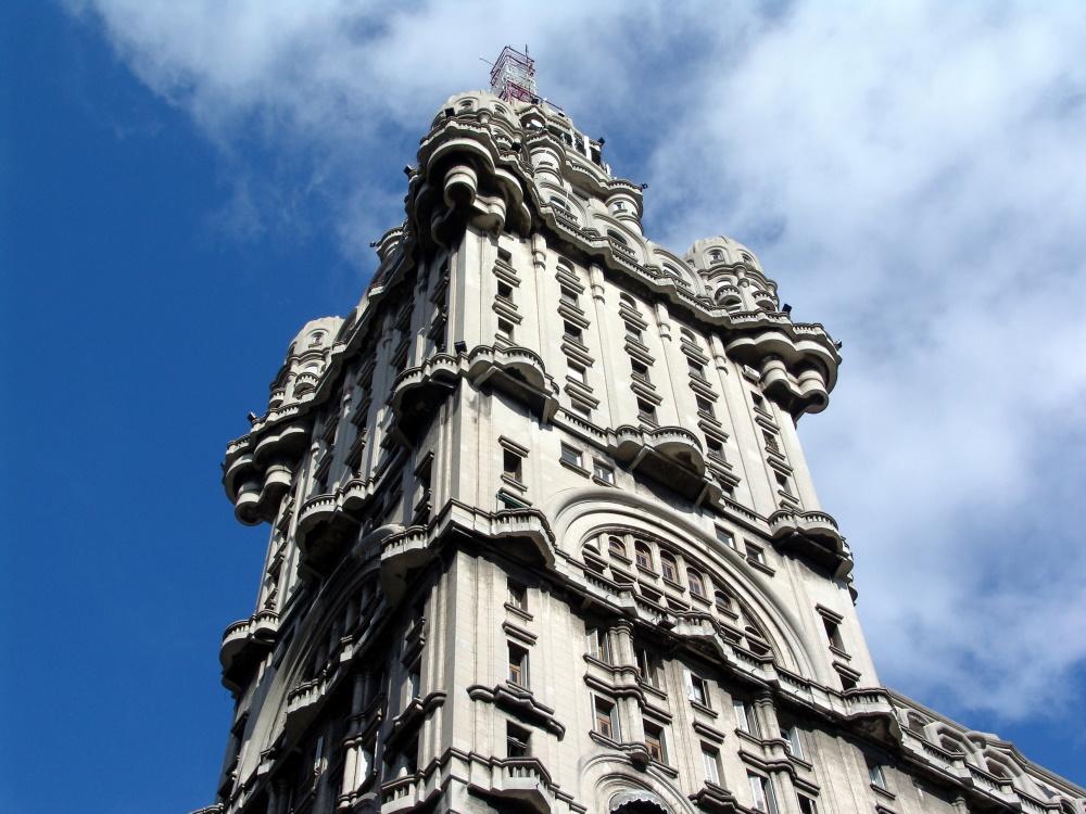 Uruguay Salvo gebouw in Montevideo (2)