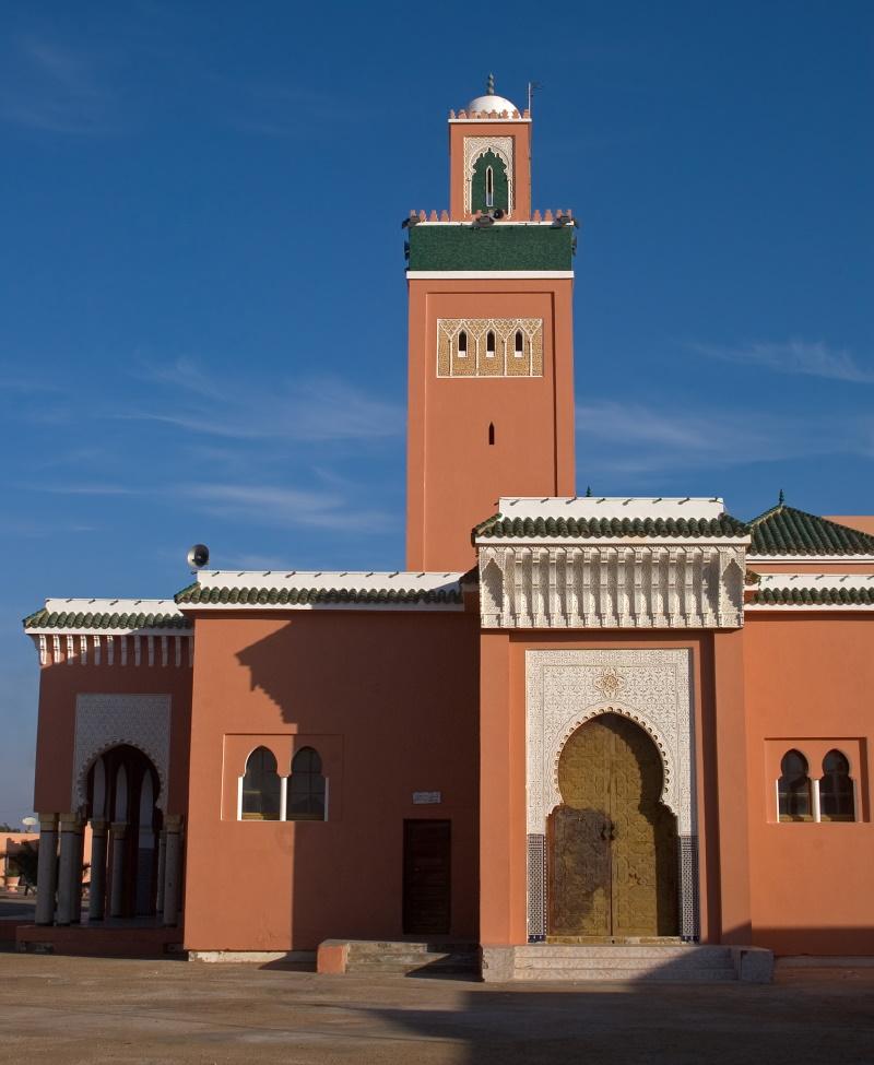Western Sahara de Moulay Abdel Aziz Moskee in de hoofdstad Laayoune