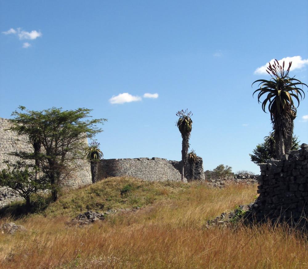 Zimbabwe antieke plek van Great Zimbabwe in Masvingo