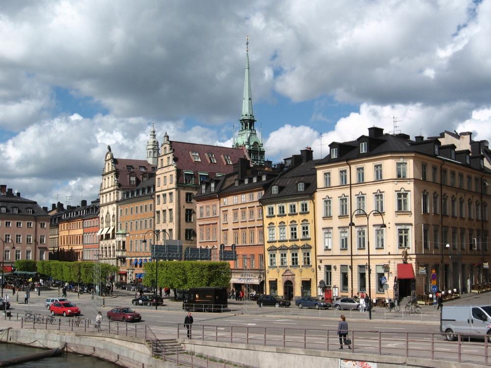 Het oude centrum van Stockholm straalt een middeleeuwse sfeer uit, hoewel de meeste huizen in latere eeuwen zijn gebouwd.